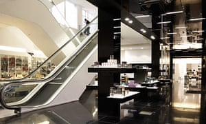 House of Fraser's partly refurbished Oxford Street store