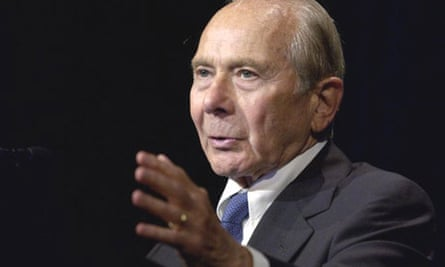 Hank Greenberg, former AIG chief executive