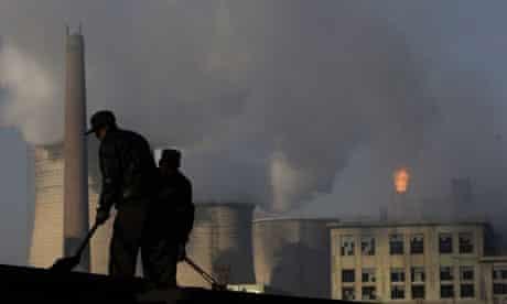 A Chinese coal mine