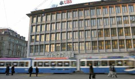 The Zurich headquarters of the Swiss banking giant UBS
