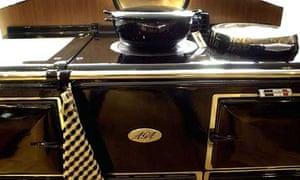 An Aga oven