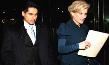 Adviser to Sheikh Zayed Al-Nahyan and Amanda Staveley, chief executive of PCP Gulf Invest - outside Barclays head office