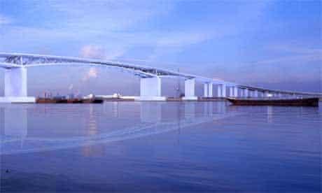 Design for Thames Gateway bridge