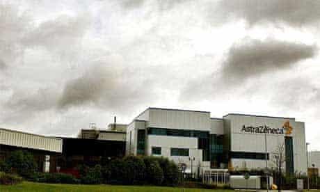 AstraZeneca's premises in Macclesfield, Cheshire