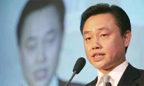 Chinese tycoon Huang Guangyu, the chairman of Gome Appliances