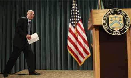 US treasury secretary Henry Paulson