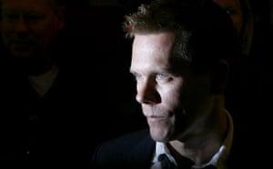 Kevin Bacon. Photograph: Reuters
