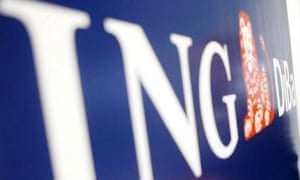 ING, the Dutch bank is one of Europe's largest