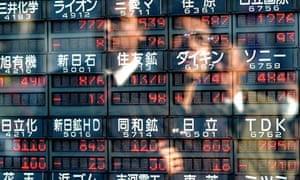 Japanese stock prices