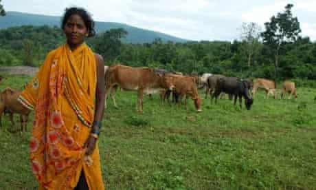 Vedanta Resources: Puroli Maghi, 22, a member of the Kutia Kondh tribe in Dangadahal