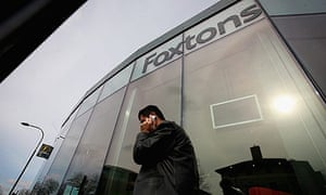 Foxtons estate agents window