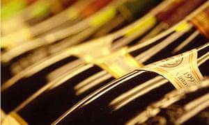 Threshers - wine bottles
