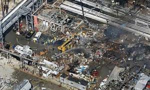 Oil refinery blast in Texas City
