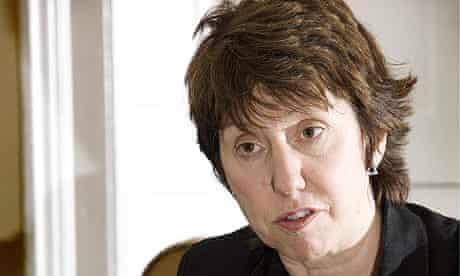 EU Trade Minister, Baroness Ashton - 31 Oct 2008