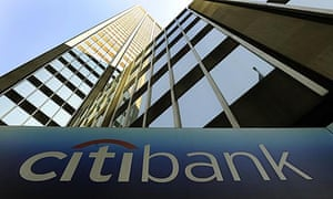 The Citibank New York offices on Park Avenue