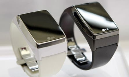 LG Touch Watch on display at the Mobile World Congress in Barcelona 16 February 2009