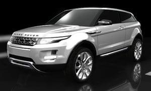 Range Rover green concept car