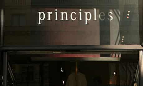 Principles store in Regent Street. Photograph: Jonathan Hordle/Rex Features