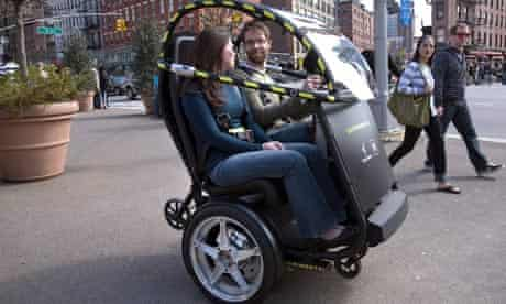 Project P.U.M.A - an electric two-seat prototype vehicle developed by General Motors and Segway