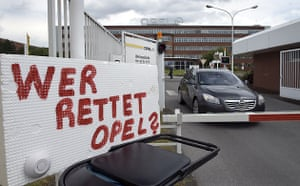 Opel car factory in Bochum, Germany, Wednesday, 27 May, 2009