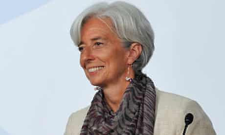 French economy, industry and employment minister Christine Lagarde