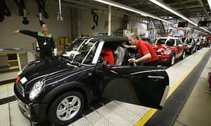 Car production: Mini factory at Cowley