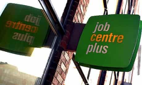 Unemployment: Jobcentre plus