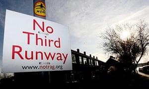 Sipson third runway at Heathrow