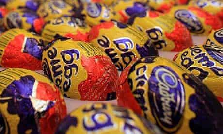 Cadbury, makers of Creme Eggs