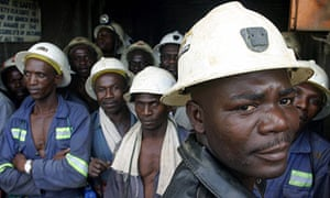 Zambian copper miners