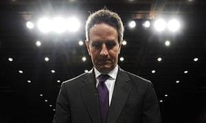 S treasury secretary Timothy Geithner