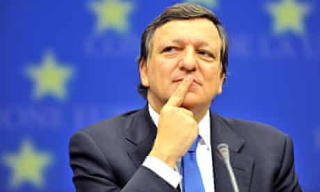 José Manuel Barroso, the European commission president