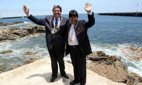 Alan Garcia, Evo Morales