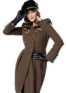 Marks & Spencer 2010 - Lisa Snowdon coat