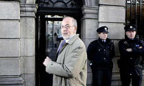 Ireland's central bank governor Patrick Honohan