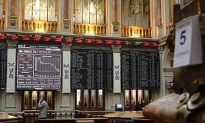 Stock Exchange in Madrid