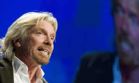 Sir Richard Branson, founder and chairman of the Virgin Group