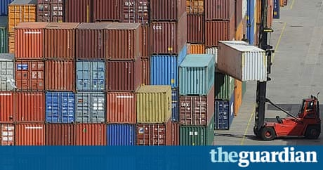 uk trade deficit unexpectedly worsens business the guardian. Black Bedroom Furniture Sets. Home Design Ideas