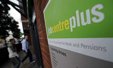 Young people outside the Doncaster jobcentre