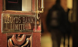A Lloyds Bank sign