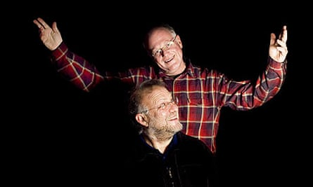 Ben Cohen and Jerry Greenfield of Ben and Jerry's Homemade Ice Cream.