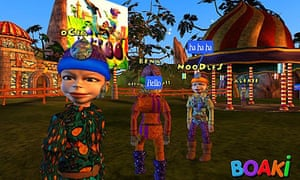 Boaki online children's game