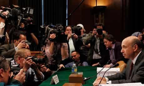 Goldman Sachs chairman and chief executive officer Lloyd Blankfein at a Senate hearing April 27 2010