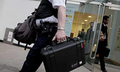 police leave alstom office