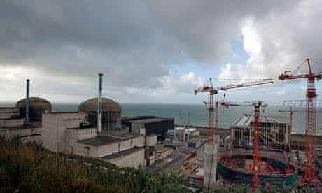 Nuclear plant in Flamanville, northwestern France