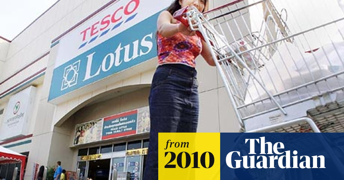 Tesco bids to increase dominance of Asian market with basket of