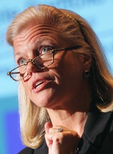 IBM's new CEO Virginia Rometty