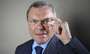 Sir Martin Sorrell, chief executive of advertising and marketing company WPP