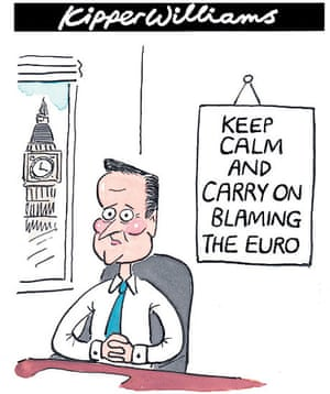 Kipper Williams: 'Keep calm and carry on blaming the euro'