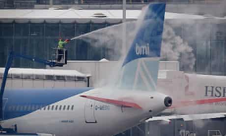 A bmi jet at Heathrow airport